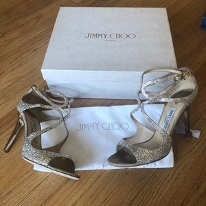9174bb3b250 Jimmy Choo Shoes - Jimmy Choo Crystal Lance Heel
